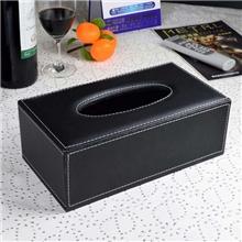 华美仕高档创意皮革纸巾盒创意纸巾盒酒店纸巾盒pu纸巾盒厂家