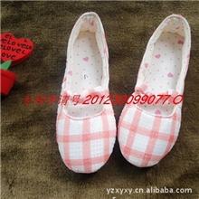 春夏季家居单鞋/月子鞋/孕妇鞋格子款