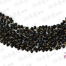 自主开发厂家直供质量保证手工订珠鞋花木珠串珠鞋花