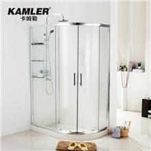 卡姆勒卫浴高档简易淋浴房整体沐浴房3C钢化玻璃隔断整体卫浴