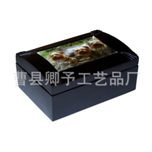 喷油木盒加拿大红雪松木盒宠物骨灰盒实木盒宠物尸体盒