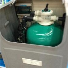 泳池地埋机地面式一体过滤箱壁挂一体机生化过滤器器进口水泵