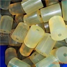 厂家直销胶垫聚氨酯材料尺寸Φ80*22*180mm本色83~85A