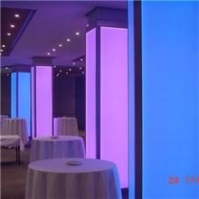 全彩LED发光板、变色LED发光墙、LED发光灯柱