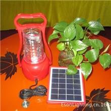 太阳能野营灯、太阳能手提灯太阳能庭院灯led一体化