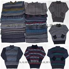 厂家清仓供应优质儿童羊毛衫加厚防寒针织毛衣外贸童装库存杂款