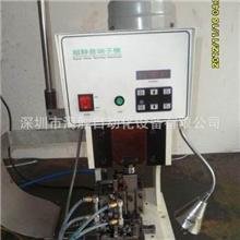 人工放线自动排线端子机,自动排线打端机,排线自动压接机,