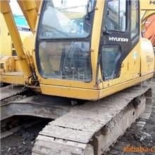 原装二手现代轮式挖掘机