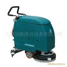 进口电机电瓶式洗地机,手推式洗地机洁驰低价销售