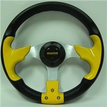 13寸PU方向盘汽车改装方向盘仿赛车方向盘MOMO方向盘