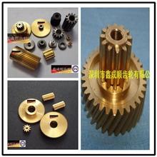 M0.2-1.0精密铜齿轮,齿轮加工,滚齿轮