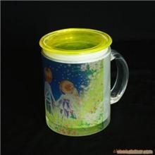 批发玻璃杯热转印玻璃杯玻璃马克杯烤花玻璃杯