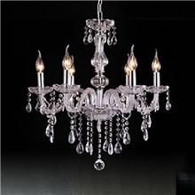 古镇厂家供应批发现代水晶蜡烛吊灯欧式吊灯水晶吊灯餐厅吊灯