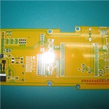 四层亮色黄油阻抗电路板打样抄板设计51PCB板打样抄做多层精密板
