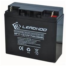 厂家供应12V17AH铅酸蓄电池