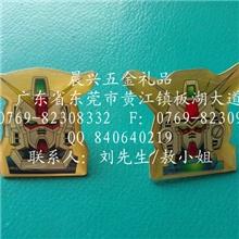 [专业厂家]生产定做铜印刷电真金胸章