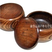 厂家直销批发围棋木罐子一对木质工艺品木制工艺罐子