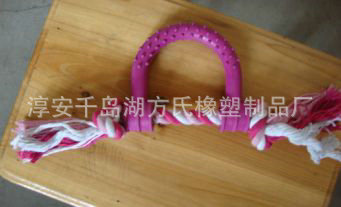 生产销售出口棉绳宠物玩具标准棉绳宠物玩具