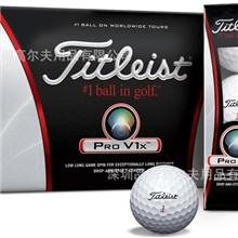 TitleistProV1X高尔夫球4层比赛球正品
