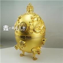 深圳鑫和鑫专业定做纯金镀金金蛋礼品金蛋金蛋批发金蛋定做