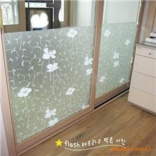 现厂大量供应高级彩色卷筒磨磨砂玻璃纸贴膜窗贴