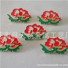 特供2012款统一金属工艺生产中国航空国色天香烤漆空姐胸章帽徽