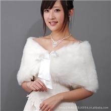 特价大红色新娘婚纱礼服披肩飘带长毛坎肩红色披肩现货PJ025