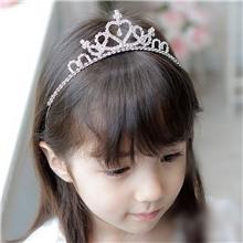 儿童发饰皇冠头饰儿童皇冠发箍头箍舞蹈表演现货供应