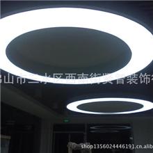 软膜天花透光膜吊顶室内广告灯箱灯柱背景墙装饰装修材料
