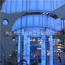 软膜天花透光膜吊顶展会广告灯箱灯柱背景墙装饰装修材料