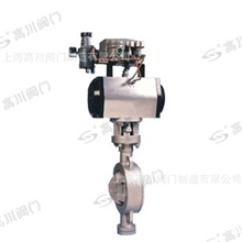 D671F气动对夹式蝶阀、气动对夹式调节蝶阀、气动蝶阀、气动阀门