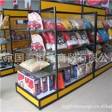 精品展柜中岛柜汽车配件展示柜抱枕陈列柜玻璃展示柜货柜
