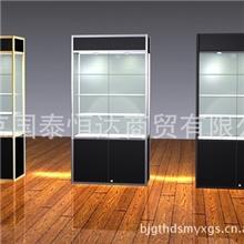 精品钛合金钛合金展柜北京展柜厂精品柜批发定制