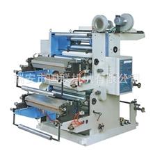 【供应】双色印刷机柔版印刷机塑料袋印刷机两色一米印刷机