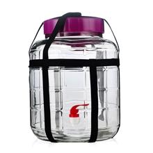 20升大号玻璃罐自酿葡萄酒玻璃瓶泡菜发酵瓶带水龙头玻璃罐