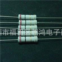 碳膜电阻器2W2Ω5%RJ17-2-2插件电阻全系列绕线电阻器