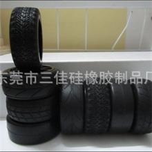 1/10房车轮胎/1比10光皮胎+海绵
