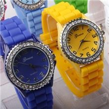 新款Ebay热卖爆款手表石英表geneva手表日内瓦手表数字面