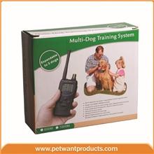 1000米遥控式宠物训练器止吠器电击震动支持3只狗