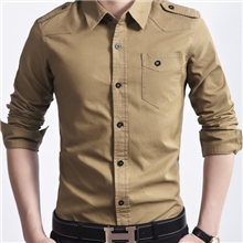 AFSjeep衬衫男士衬衫战地吉普衬衫秋季爆款AFSjeep衬衫6618
