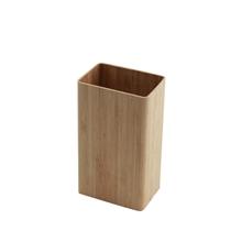供应竹皮茶叶筒方形茶叶盒竹包装盒