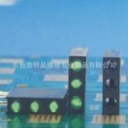 【东莞恒品橡塑五金制品】灯座隔高灯座圆孔灯座方形座3mm
