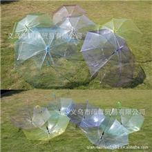 特价厂家批发透明伞广告伞定做活动促销礼品伞定制长柄自动雨伞