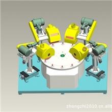供应ZZ-176圆盘间歇式自动抛光机自动抛光机全自动镜面抛光机