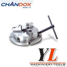台湾chandox千岛卡盘强力超薄型夹盘强力卡盘NBK-06