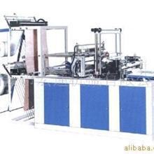 电脑控制双层薄膜封切机,双色彩条塑料吹膜机,制袋机