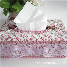 【田园纸巾盒】韩版布艺纸巾盒批发厂家直销9.9元店热销