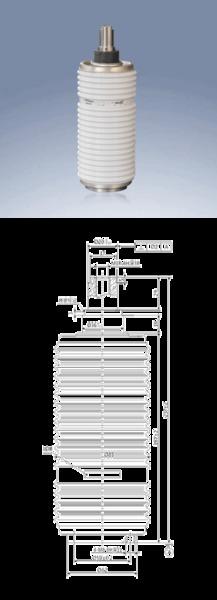 ZW8户外柱上干式断路器用真空灭弧室(202A)