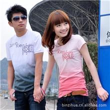 东莞市2013新款女装情侣装夏装情侣t恤短袖亲子装家庭装欢迎订购