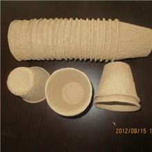 纸花盆容器/纸浆杯苗杯/营养钵/